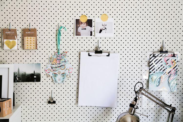 Scandi Home Office Design ideas - Mood Board Styling