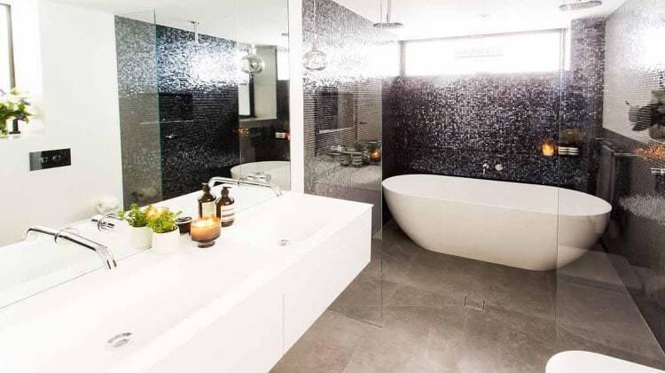The Block Bathroom Reveals - Darren and Dea