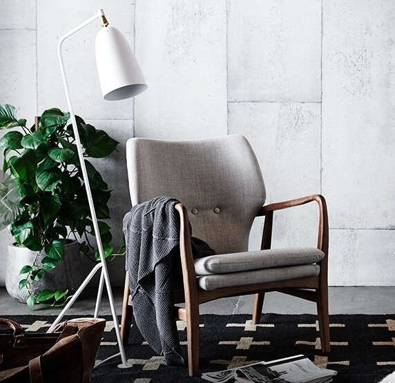 Adairs Armchair - Winter Decorating 2015