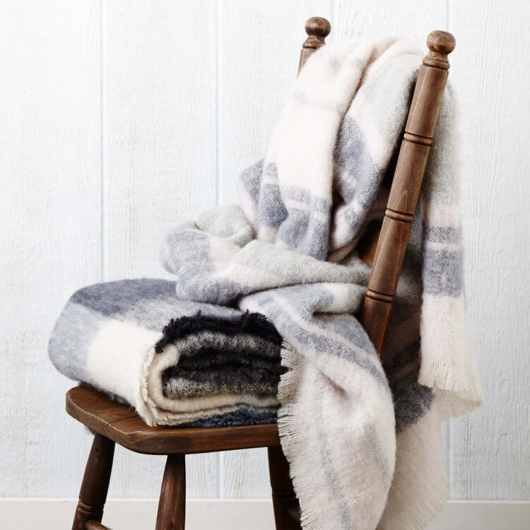 Alpaca Throws from Zanui - Winter Decorating