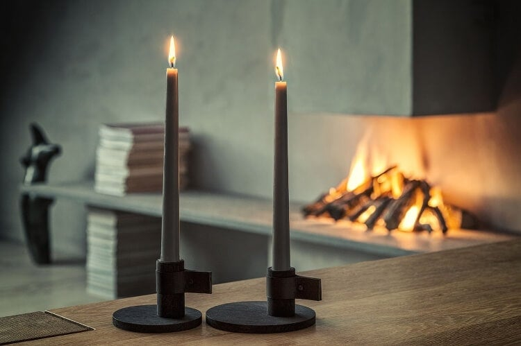 Candle Holders from Norsu - Winter Decorating 2015