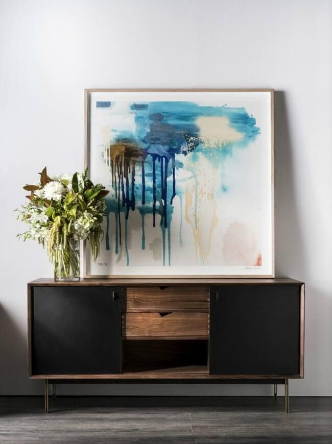 Clickon Furniture Winter 2015 - Side Board and Art