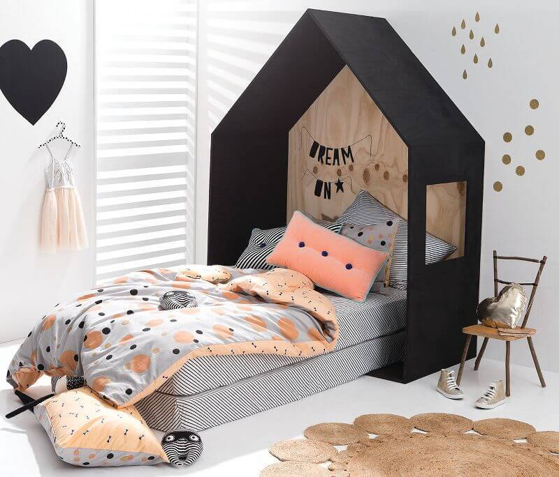 Cotton On KIDS bedding for Autumn - metallics