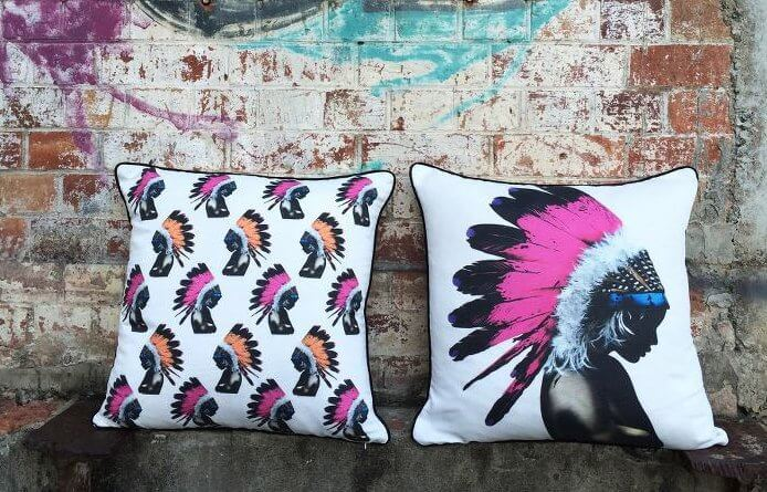 Cushions by Matt Stewart - Street Art Cushions