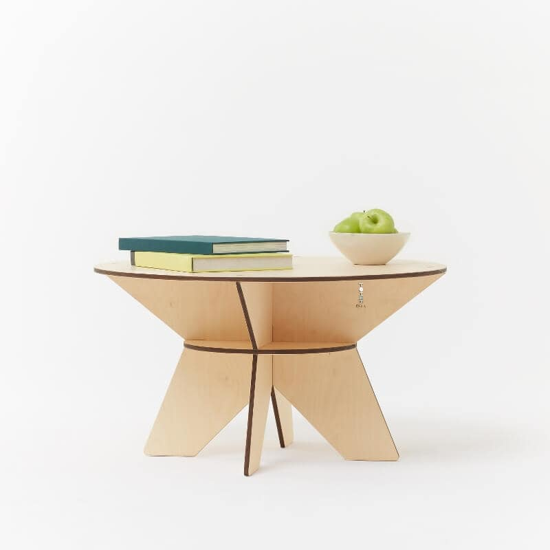 Designer Furniture from Plywood - Luna Coffee Table