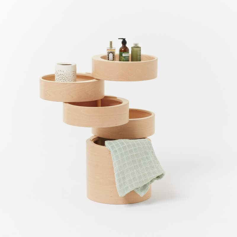 Designer Furniture from Plywood - Rotating Drawers