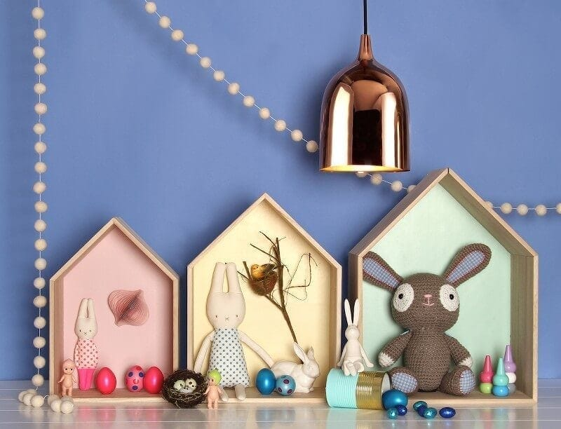 Easter Decorating Ideas - Gifts for Kids from Paper D-Amour