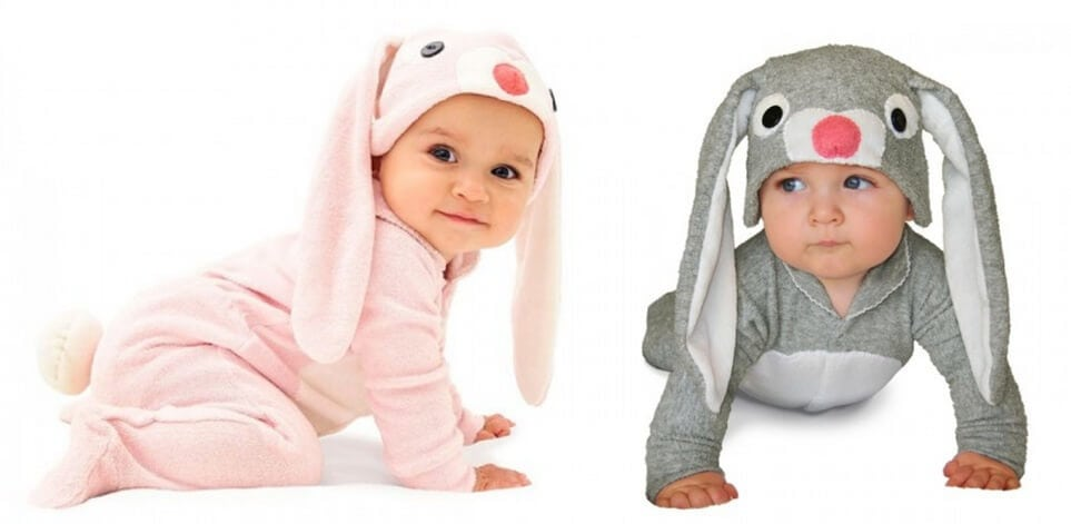Easter Gift Ideas - Easter bunny jumpsuits