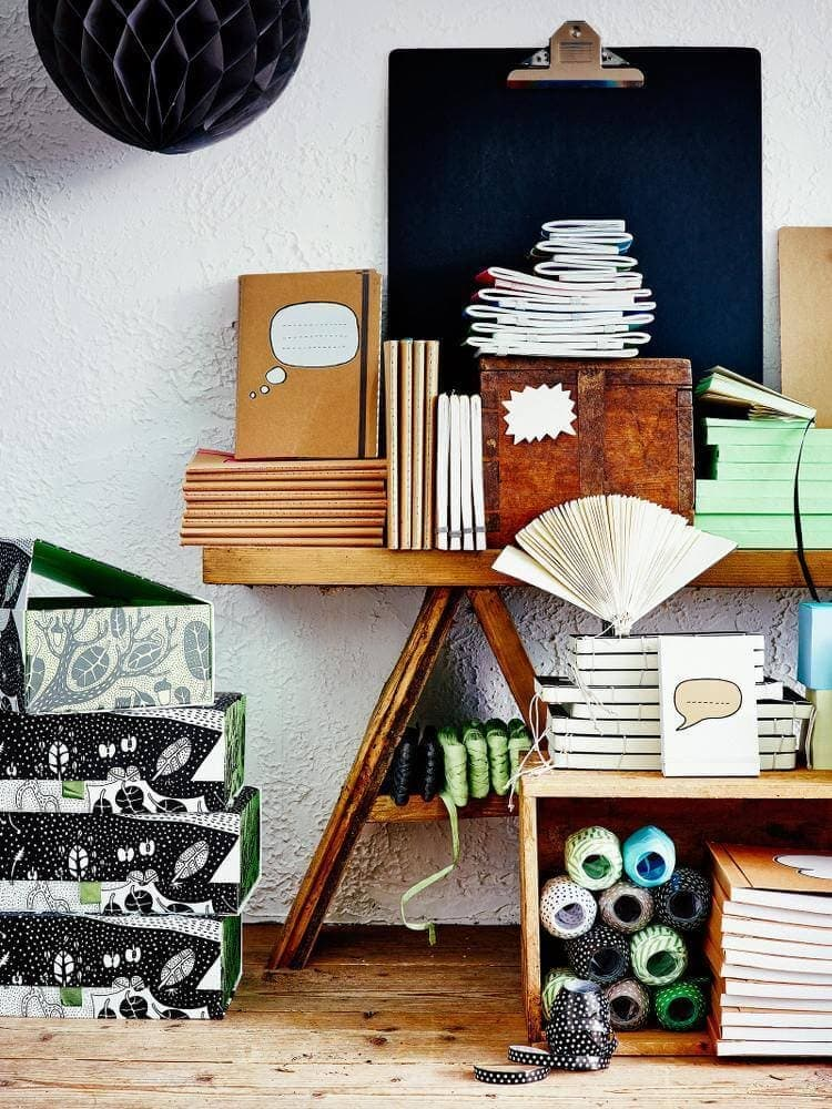 IKEA Stationery Range of Paper, Wrap and Notebooks