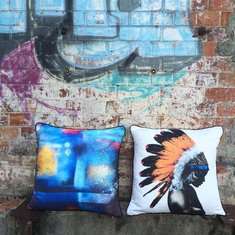 Matt Stewart Graffiti Cushions
