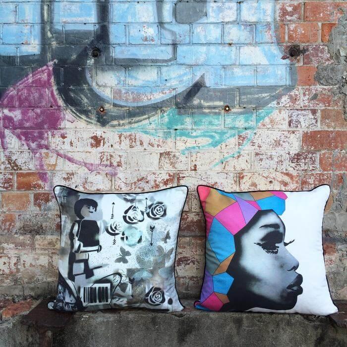 Matt Stewart Street Art Cushions