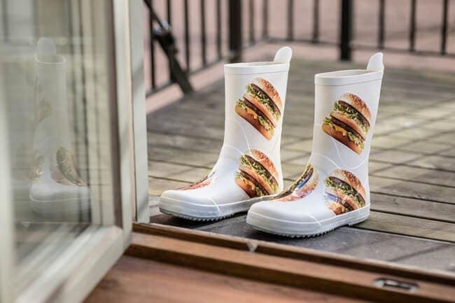 McDonalds Big Mac Gum Boots