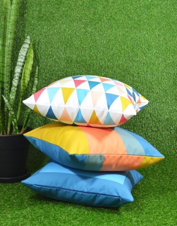 Outdoor Cushions - Hello and Behold