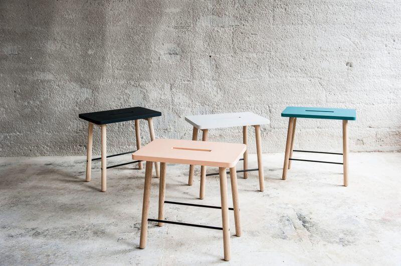 Scandinavian Design - Scandi Stools from Urbaani