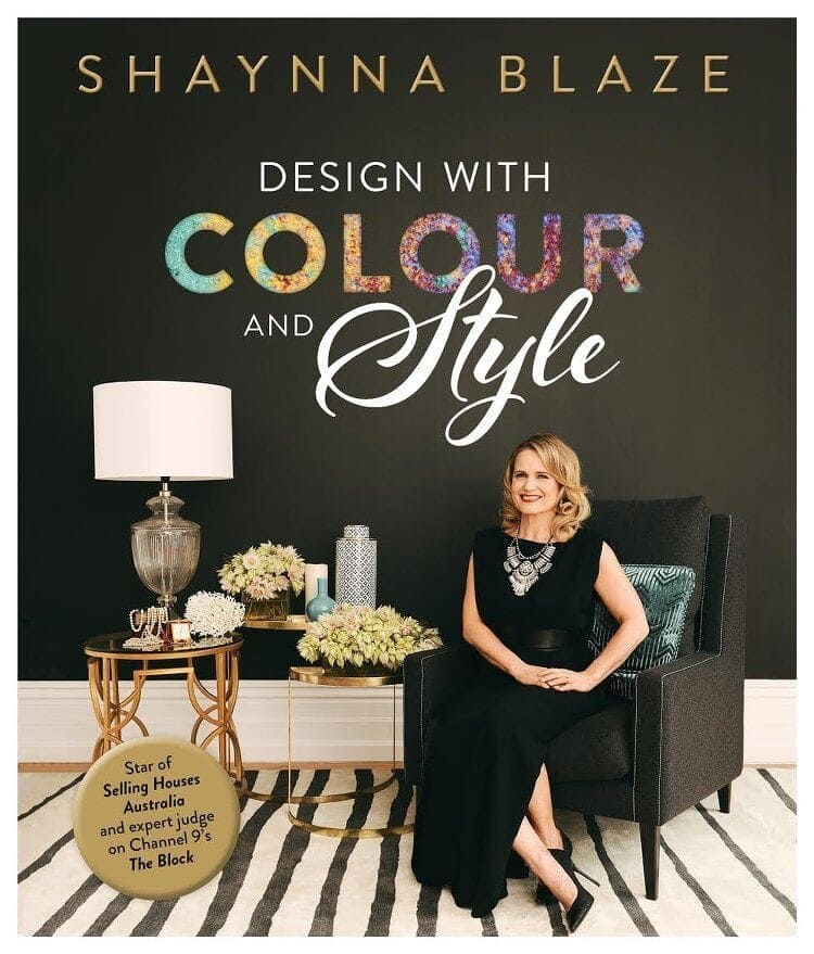 Shaynna Blaze book - design with colour and style