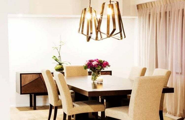 The Block - Tim and Anastasia Dining Room
