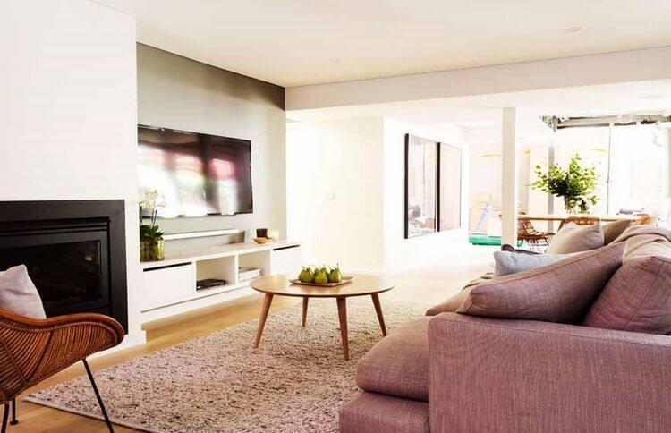 The Block Triple Threat Darren and Dea Living Room