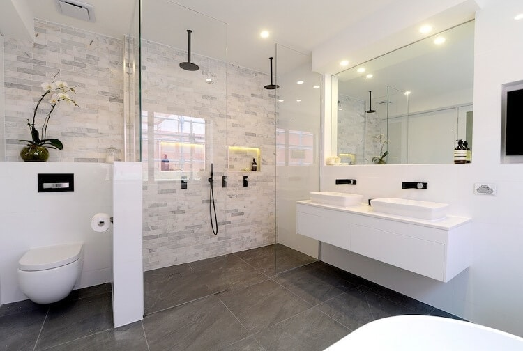The Block Triple Threat Ensuite Reveals Two Bad Two Good