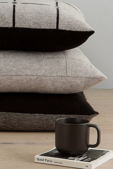 Winter Decorating - Countrt Road Brown and Grey Cushions