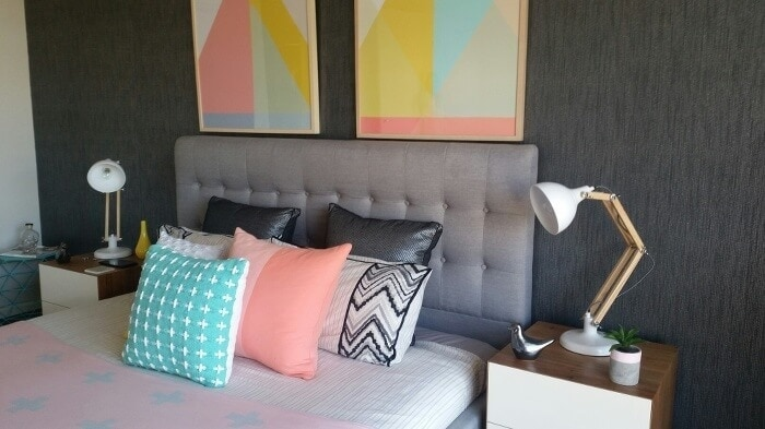 Mia Young S Colourful Freedom Bedroom Makeover Tlc Interiors