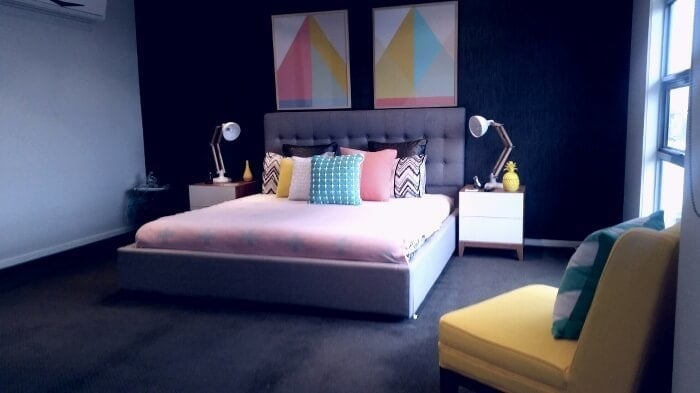 Colourful Bedroom Ideas - Bedroom Makeover