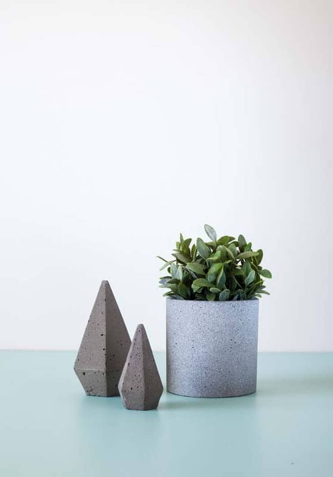 Concrete Homewares from Zakkia
