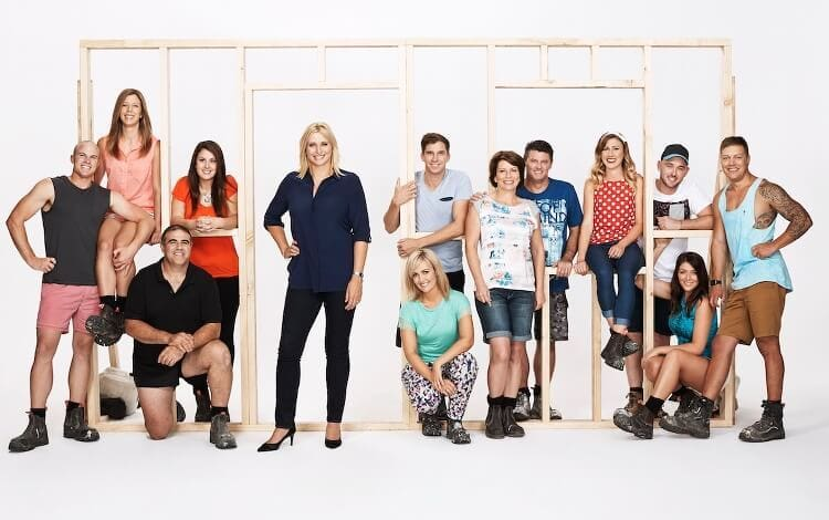 House Rules 2015 - Johanna Griggs with the Season 3 cast