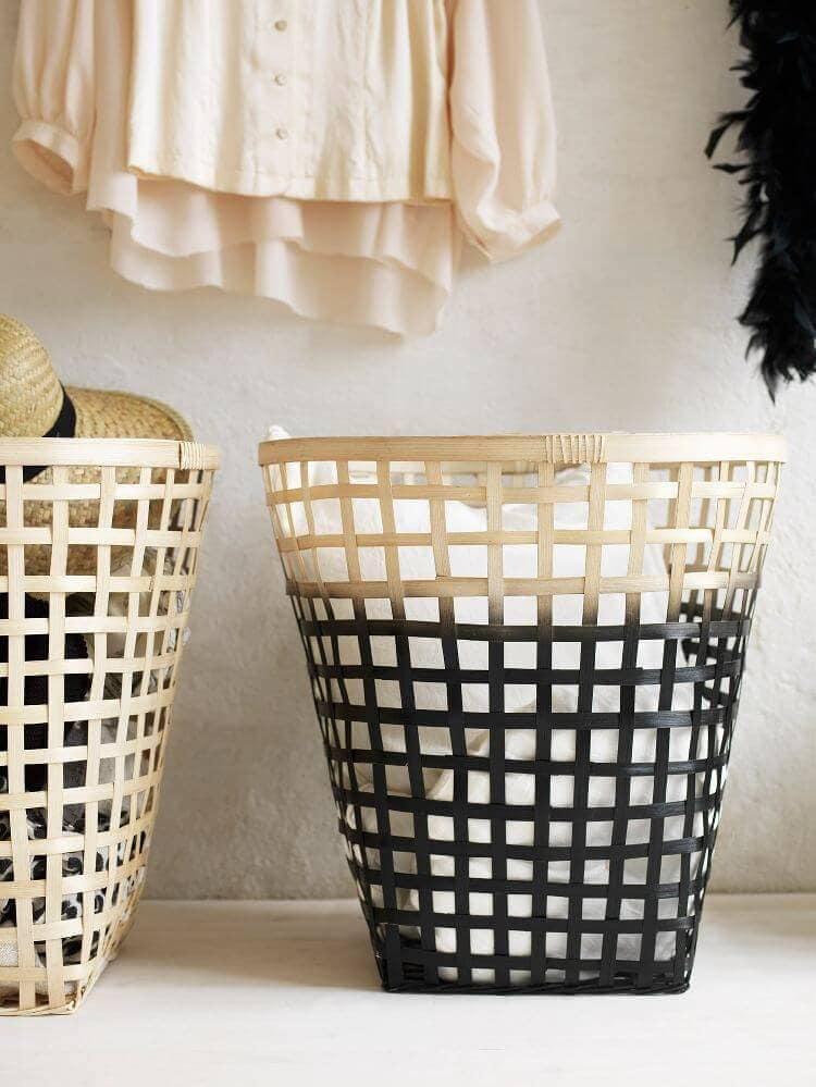 IKEA Nipprig range - ombe woven storage baskets