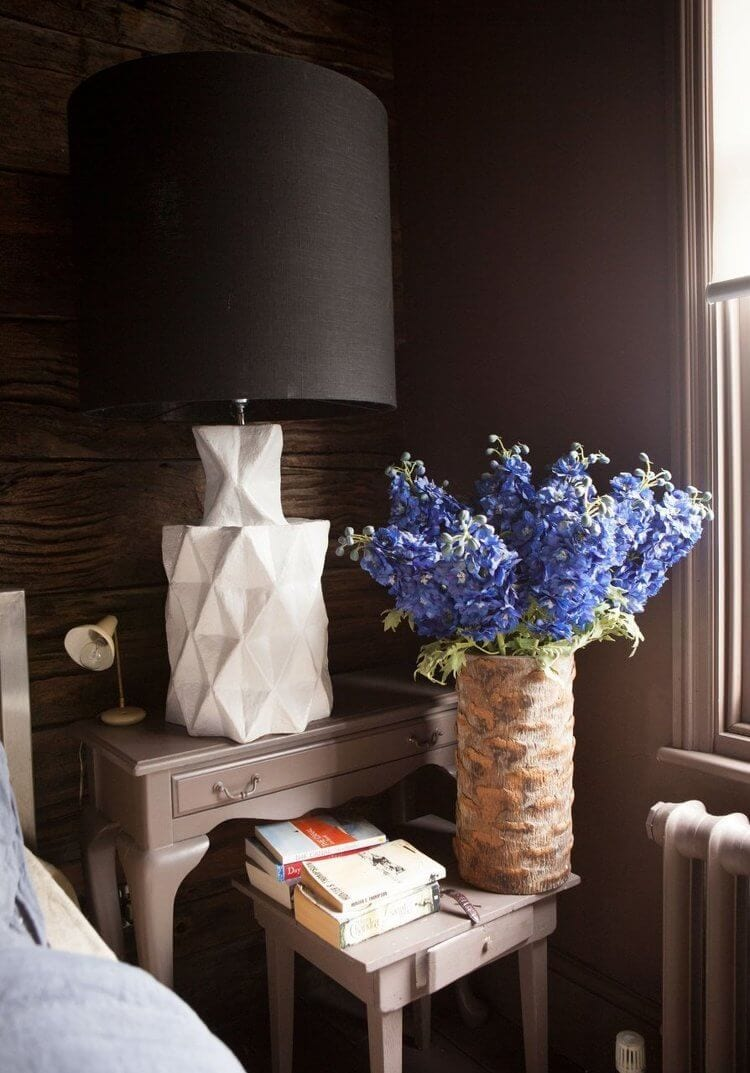 Inside Abigail Ahern's Home - Multiple Bedside Tables