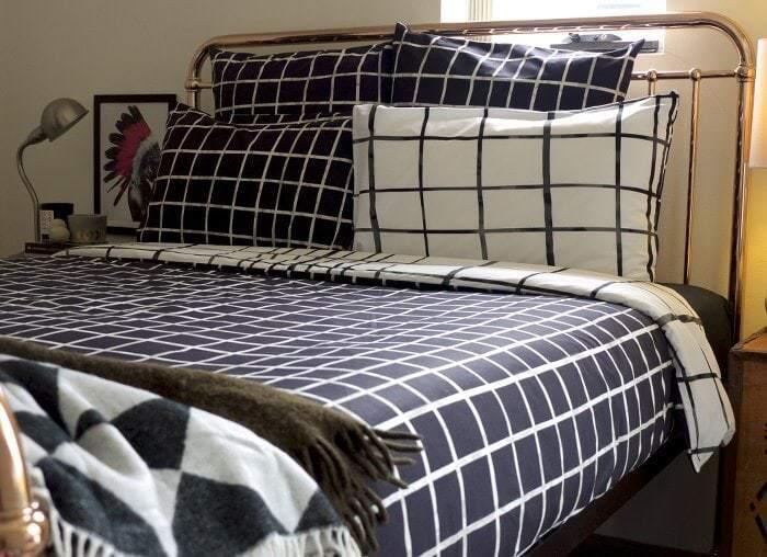 Kas bedding - Monochrome Bedroom Ideas