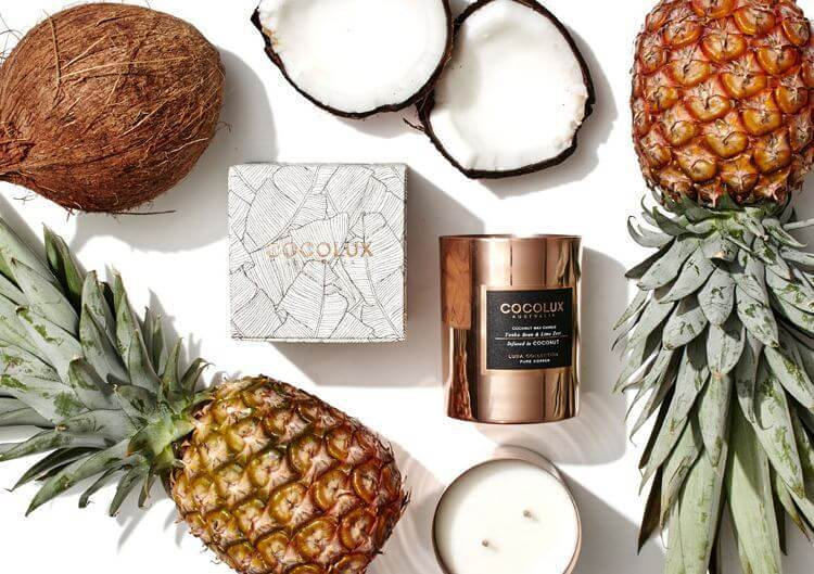 New Copper Candles from CocoLux