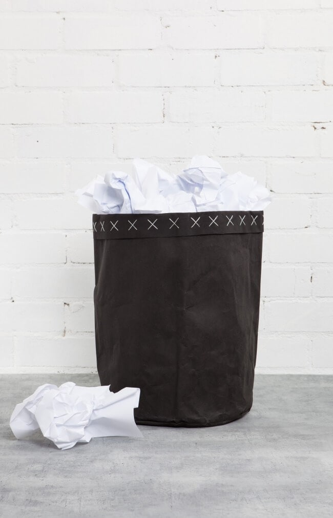 Paper Bag Bin - Zakkia Homewares