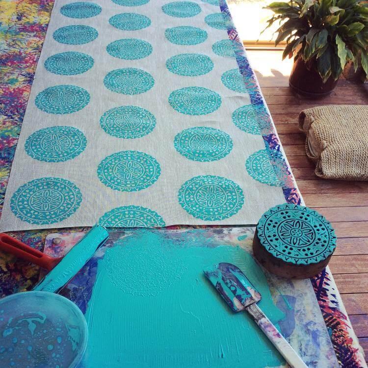 Screen Printed cushion designs - Shakiraaz Cushions