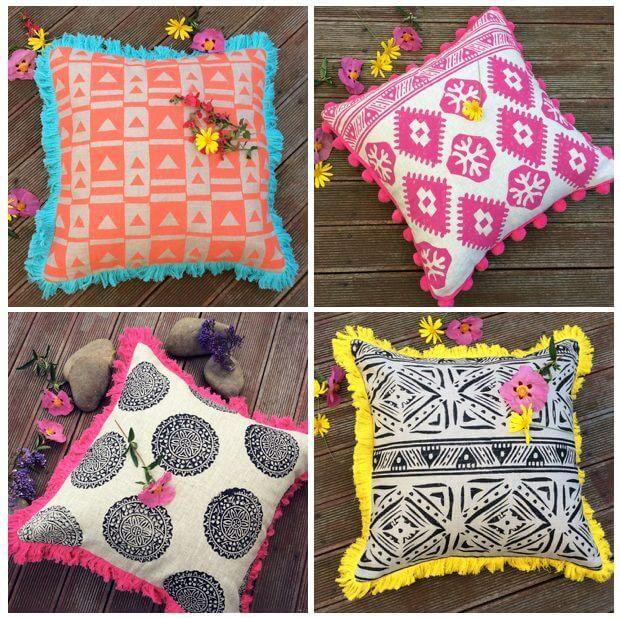 Shakiraaz cushions by Shakira Lima