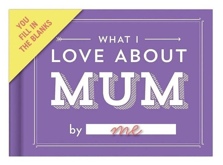 What I love about Mum - Mother's Day Ideas from Yellow Octopus
