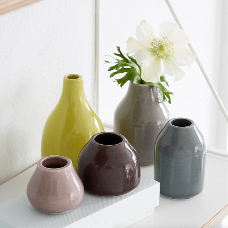 Kahler Scandinavian Design - Ceramic Vases and Votives