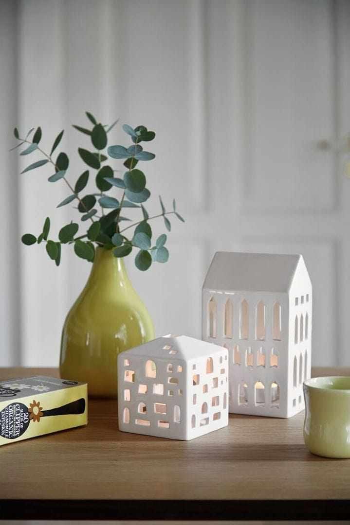 Kahler Scandinavian Design Pieces - Mini Ceramic Houses