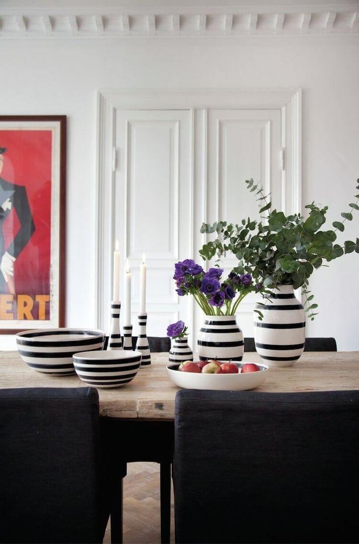 Kahler Scandinavian Design and Decor - Striped Homewares