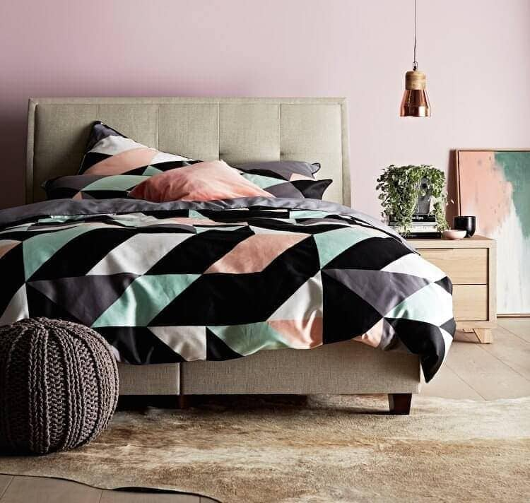 Padded Bedhead from Forty Winks - Bedroom Ideas to Add Texture