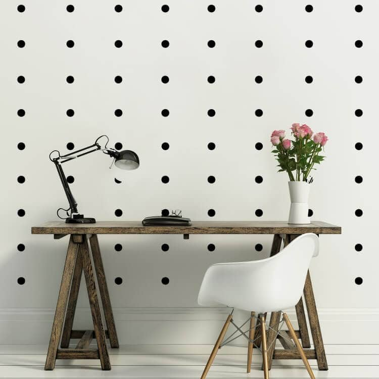 Pola Dot Wall Decals from Vinyl Design