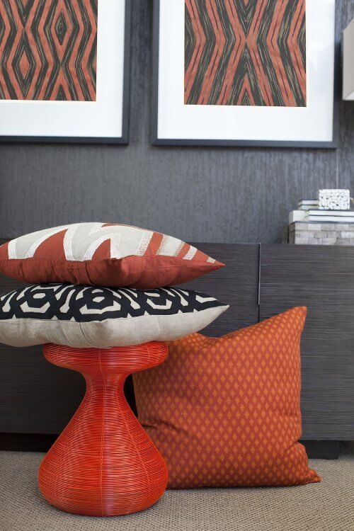 Red Homewares from Bandhini