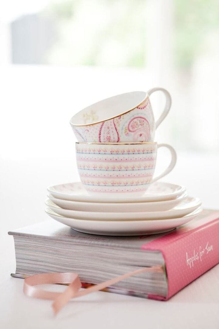 Tara Dennis Paisley Collection - Teacups