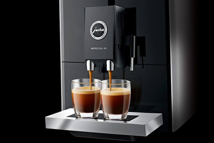 A9 Platin coffee machine from Jura