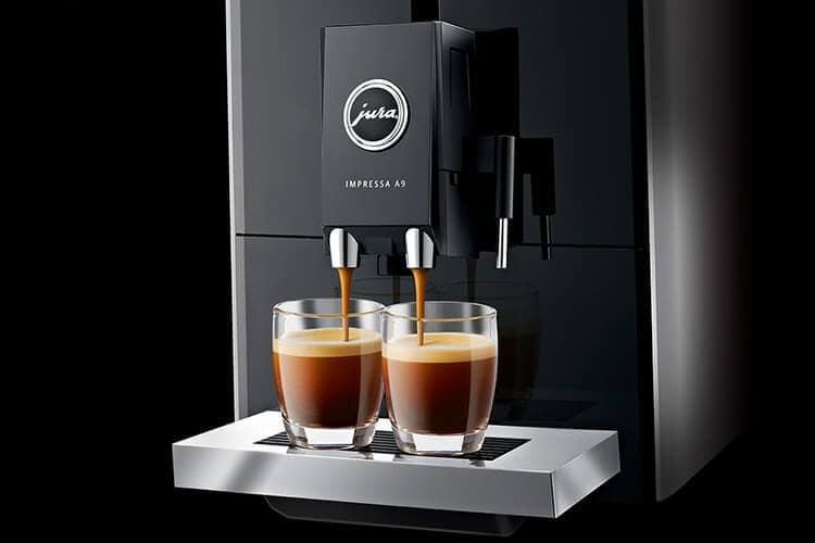 A9 Platin coffee machine from Jura