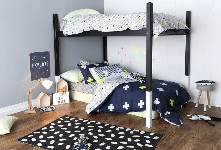 Boys Room Ideas from Cotton On Kids Bedding
