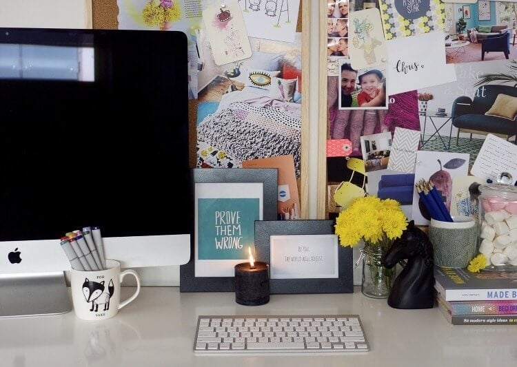 Home Office Makeover Ideas from The Reject Shop