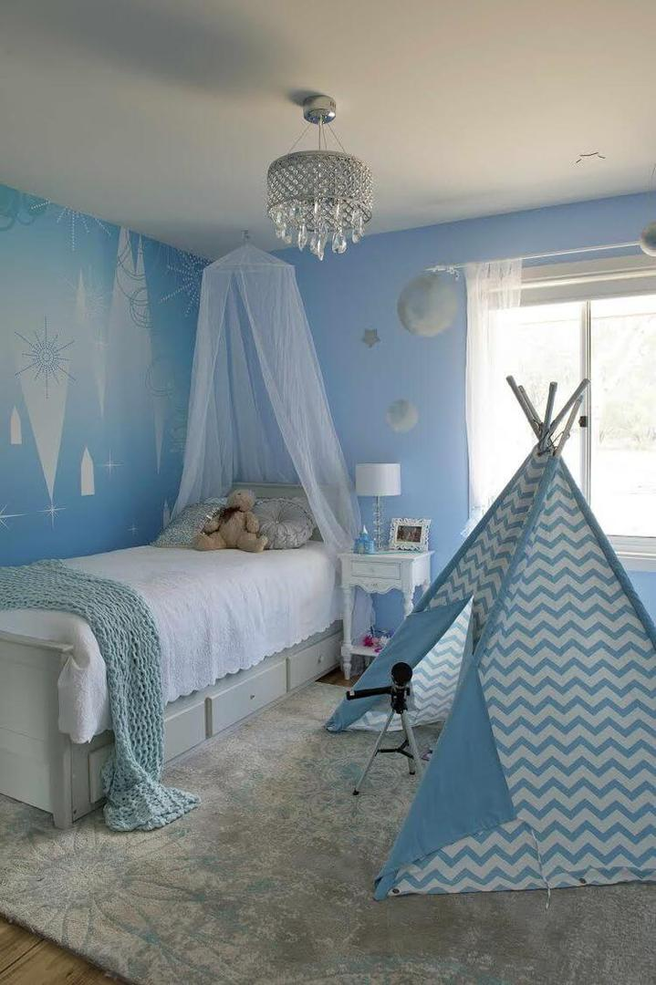 House Rules 2015 WA Whole House Reveal - Frozen Bedroom