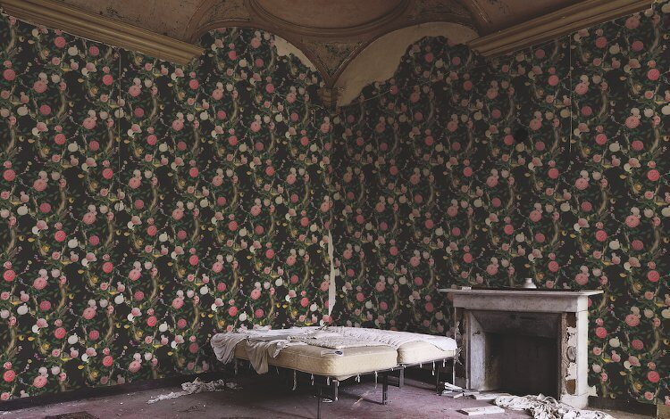 Pink Floral Wallpaper Design from Kingdom Home