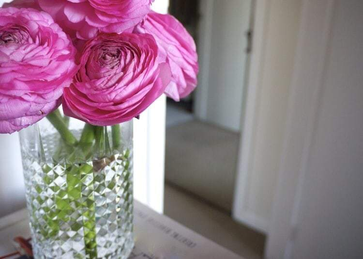 Pink Flowers from TLC Interiors
