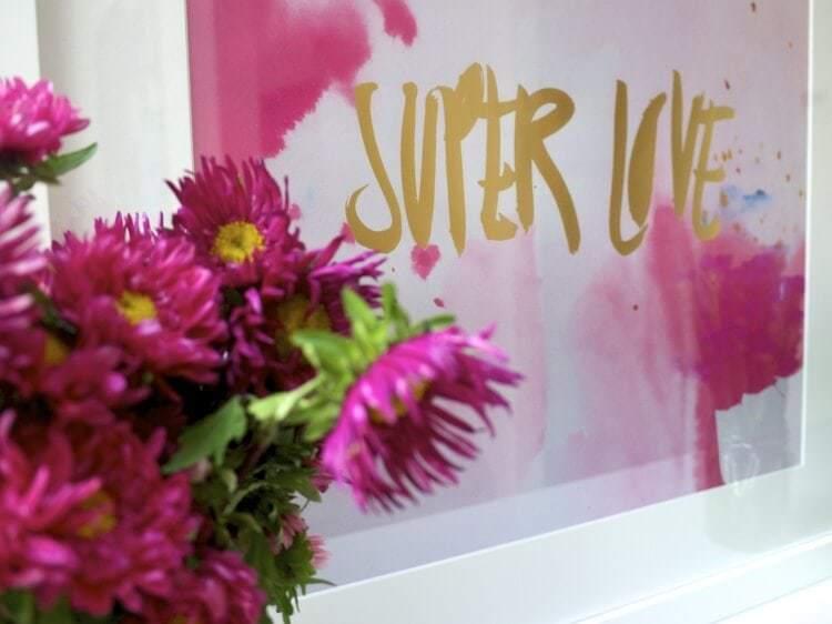 Rachel Kennedy Art - Super Lover Art Print